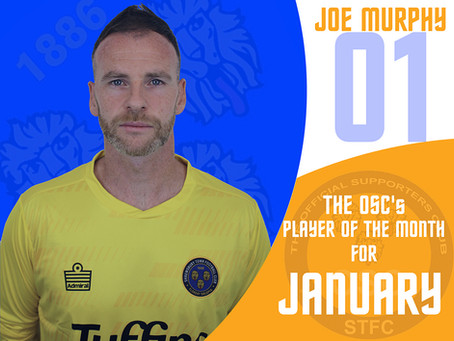 January's player of the month is...….