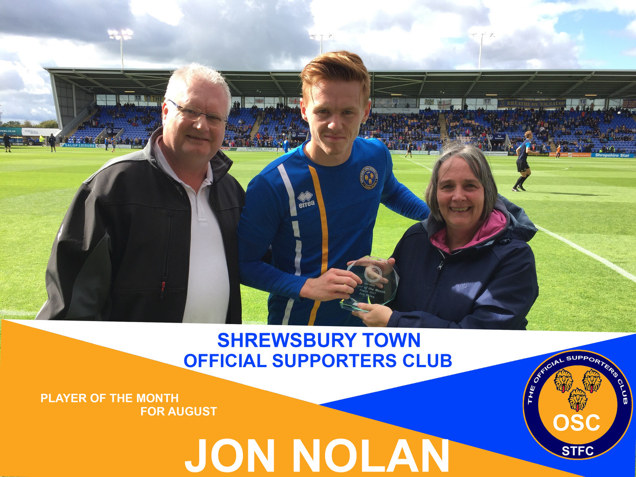 OSC's Player of the Month for August