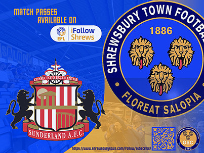 Sunderland at home is available on iFollow