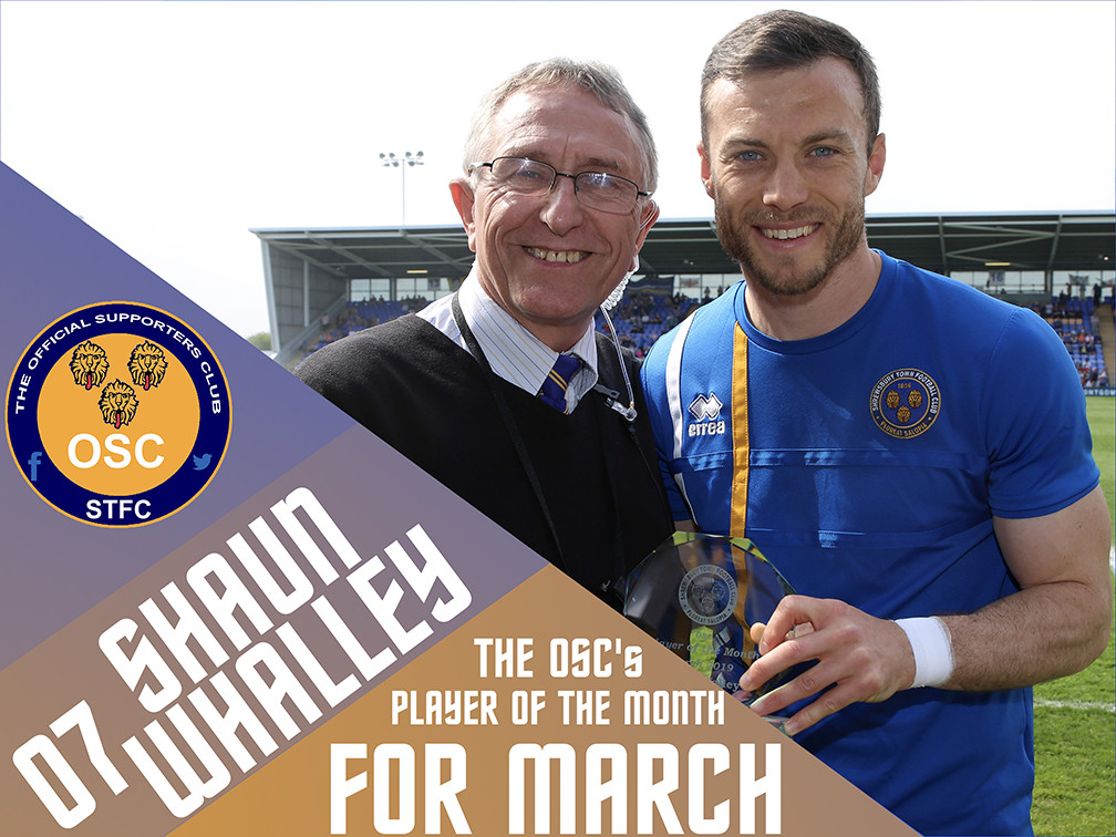 OSC's Player of the Month for April