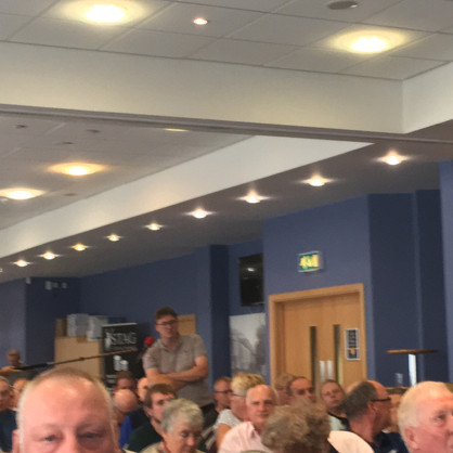 Glyn Price asks a question
