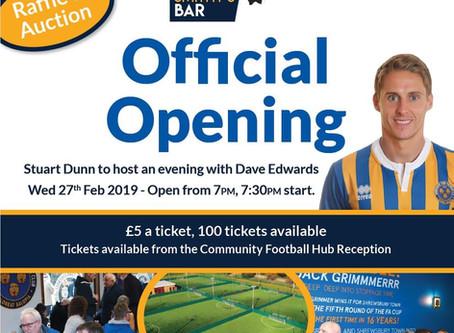 Community Football Hub Official Opening