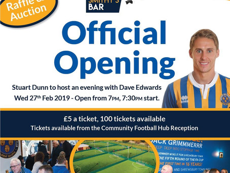 Community Football Hub Official Opening