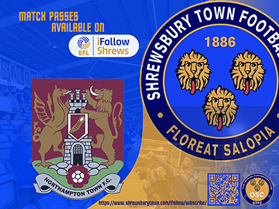 Northampton Town away is available on iFollow