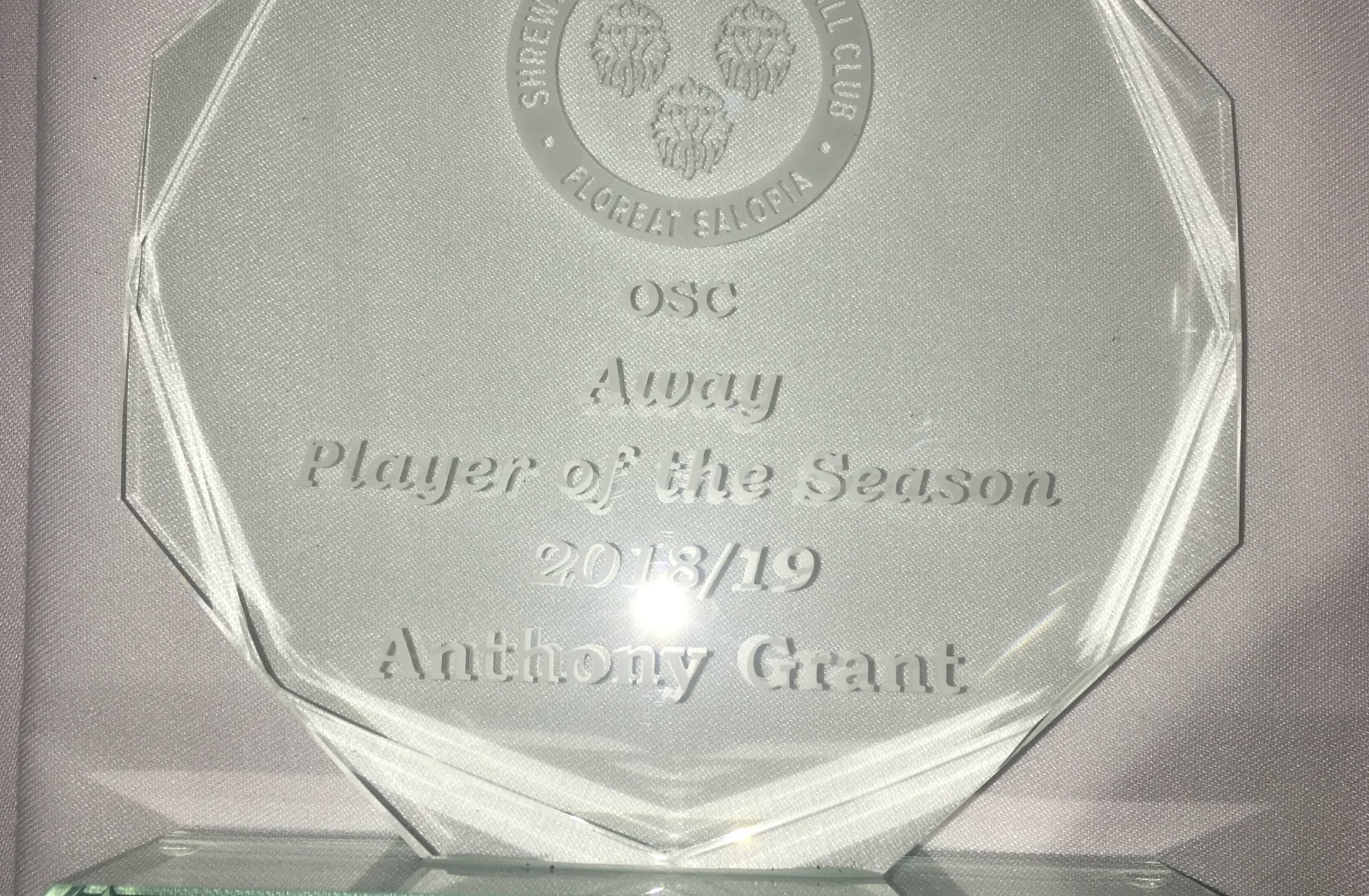 Away Player of the Year