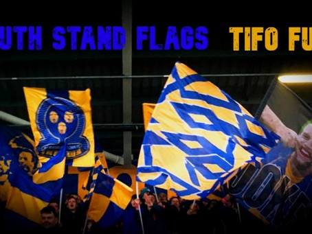 South Stand Flags