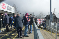 Town supporters ready