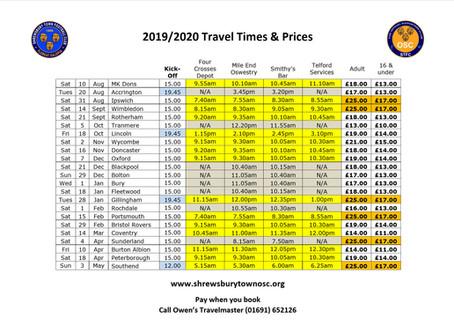 OSC 2019/20 Timetable