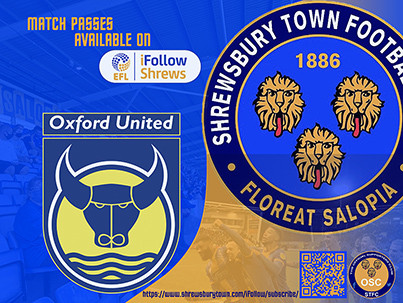 Oxford away is available on iFollow