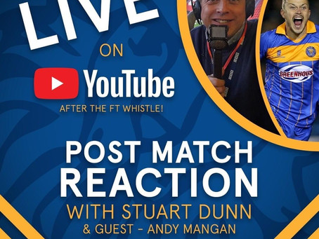 Post-match reactions with Dunny