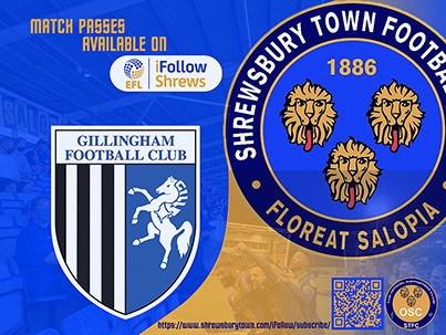 Gillingham away is available on iFollow