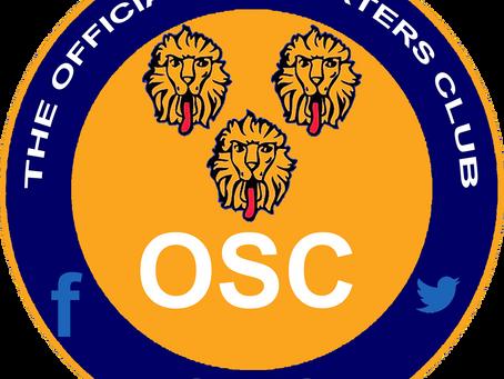 OSC 2019/20 Season Travel