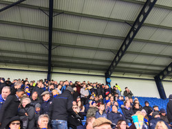 Town fans at Oxford