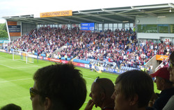 Villa supporters (Away Stand)