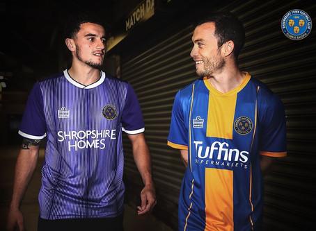 New Shrewsbury Town FC 2019/20 Kit revealed