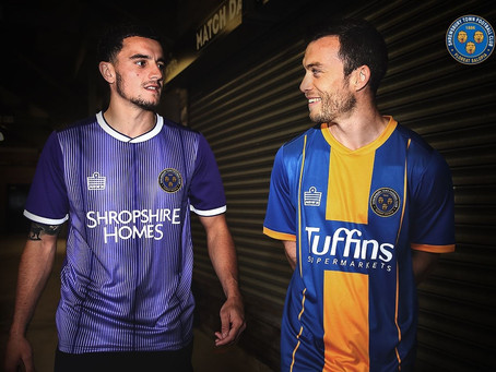 New Shrewsbury Town FC 2019/20 Kit revealed