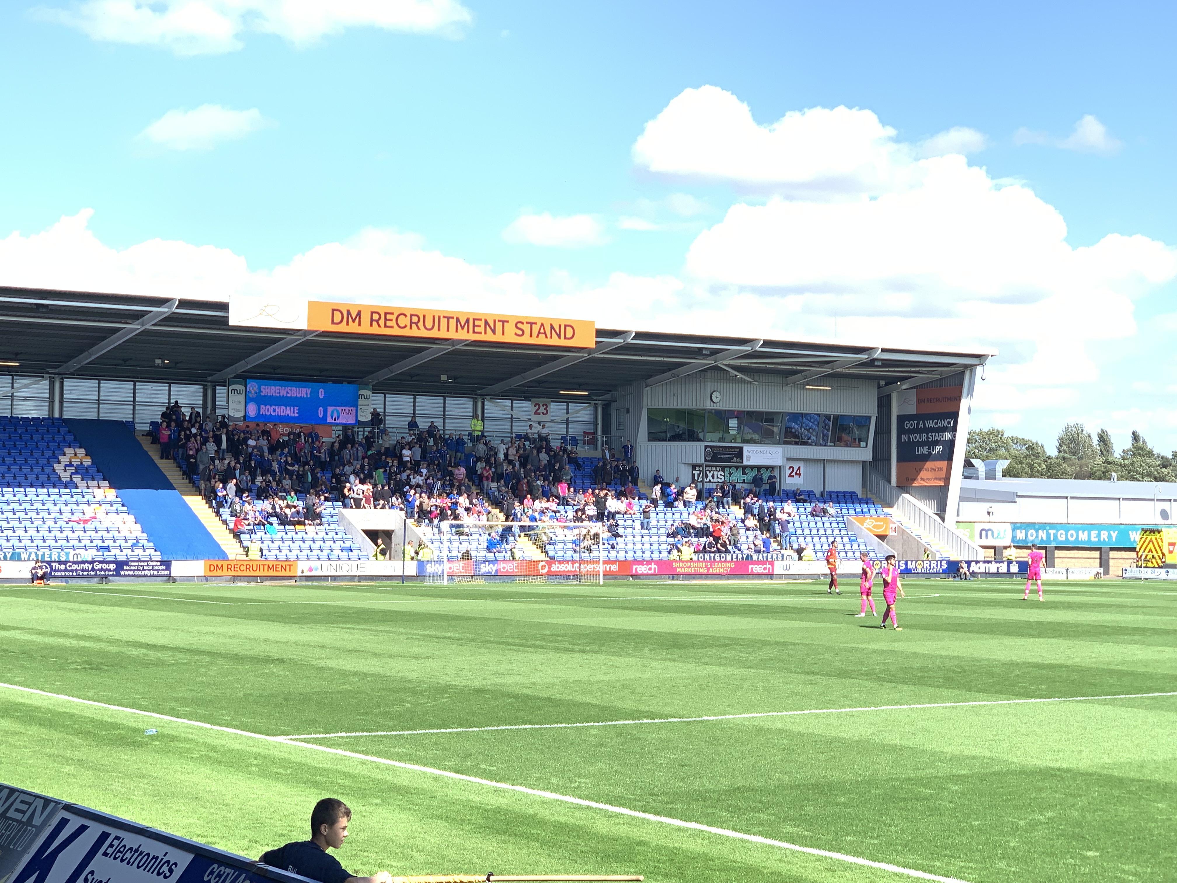 Rochdale supporters