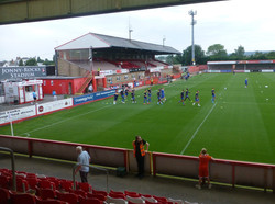Town pre-match warm up