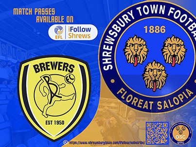 Burton Albion away is available on iFollow