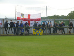 Town supporters