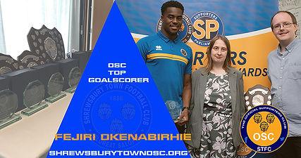 OSC Top Goalscorer - Fejiri Okenabirhie.