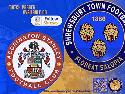 Shrewsbury at Accrington