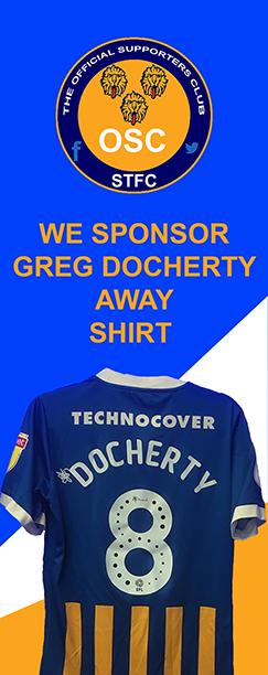 GREG DOCHERTY AWAY KIT