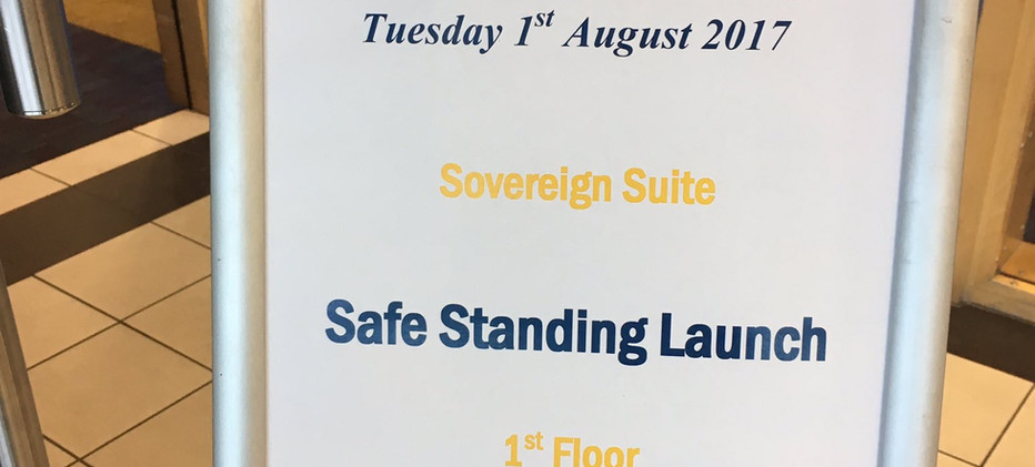Safe Standing Fundraising Launches