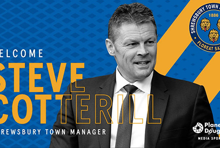 Welcome to Shrewsbury Town Steve