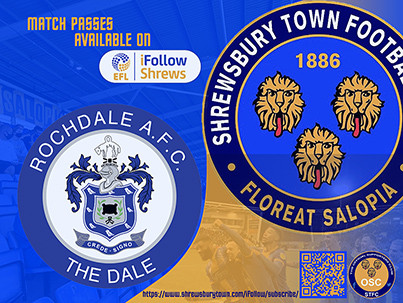 Rochdale away is available on iFollow