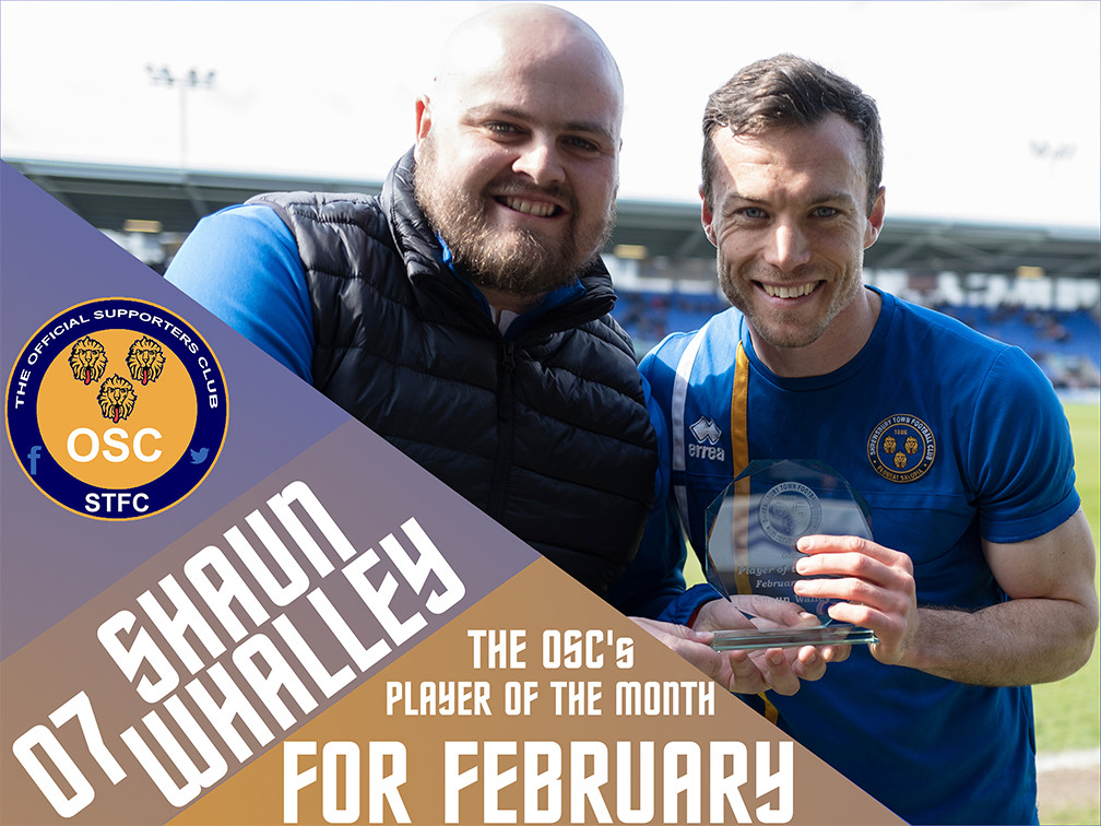 OSC's Player of the Month for February