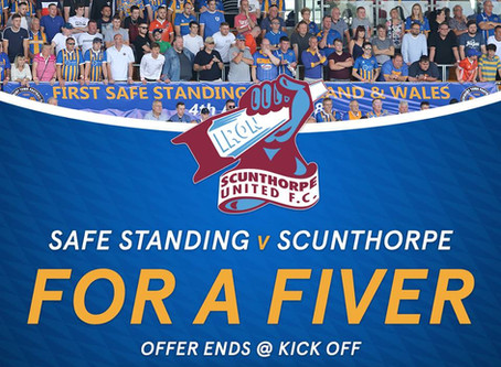 £5 offer for Safe Standing
