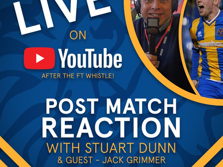 Stuart Dunn is back for another post-match live chat