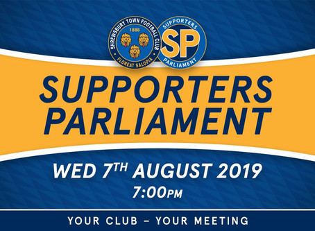 Supporters Parliament meeting
