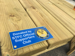 OSC Donated benches