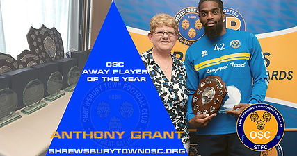 OSC Away Player of the Year - Anthony Gr