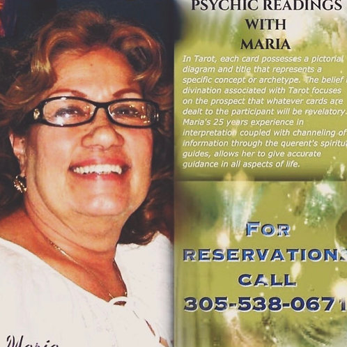 Psychic Reading with Maria