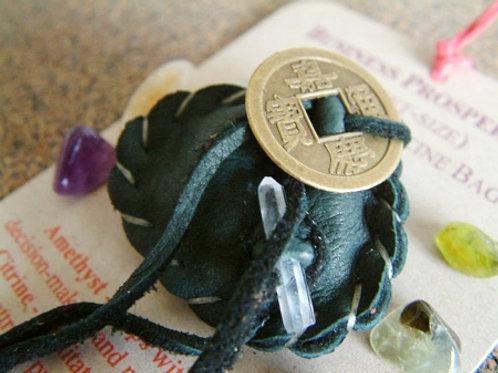 Business Prosperity Crystal Medicine Bag