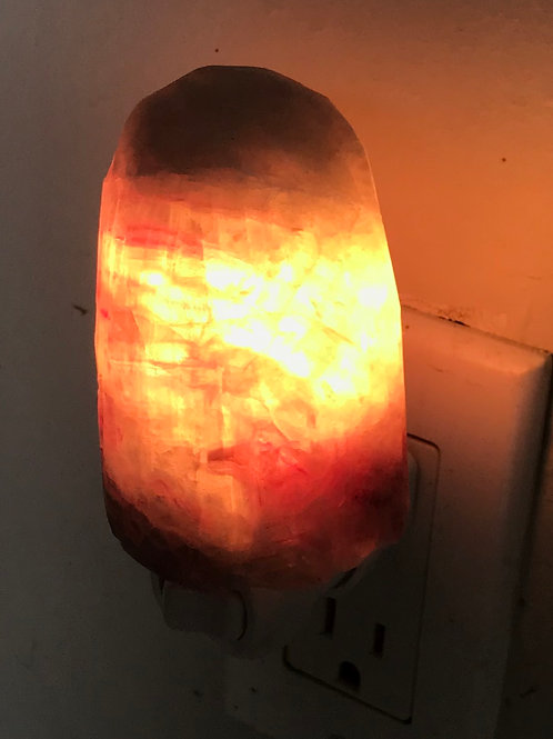 Fluorite Night Lamp