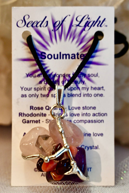 Soulmate Crystal Amulet