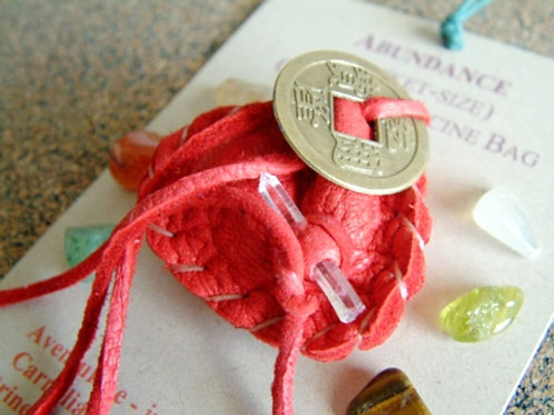 Abundance Crystal Medicine Bag