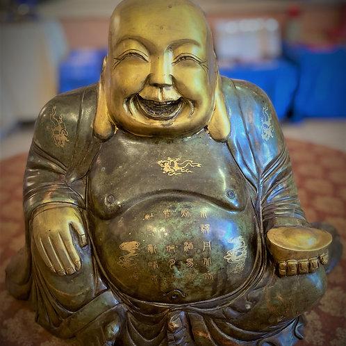 Jade Hotei Buddha
