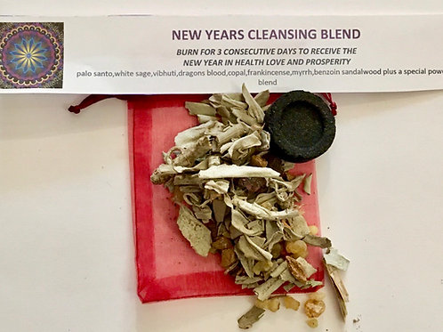 New Years cleansing blend
