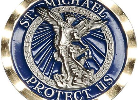 St Michael's Challenge Coin