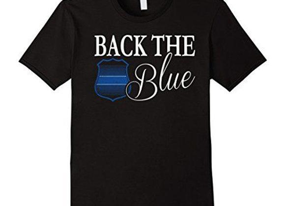 Back the Blue Cotton T-shirt