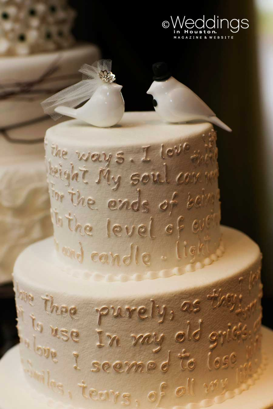 Wedding Cakes Houston | Susie S Cakes Confections Houston Wedding Cakes