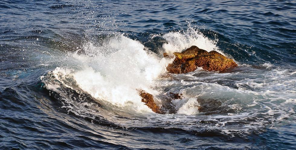 Lavastenar i havet