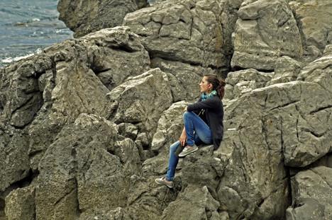 Rocking(?) woman