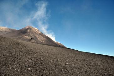 Etna, Europas högsta nu aktiva vulkan.