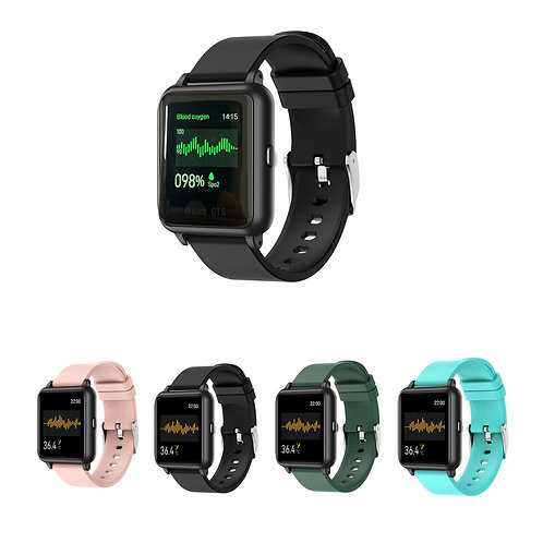 OXITEMP Smart Watch With Live Oximeter, Thermometer And Pulse Monitor